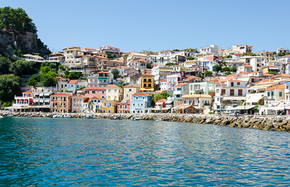 Parga - View from the jetty
